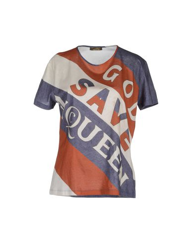 ALEXANDER MCQUEEN - Short sleeve t-shirt
