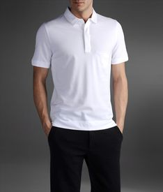 EMPORIO ARMANI - Short-sleeved polo shirt