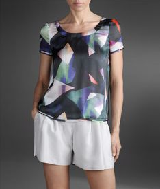 EMPORIO ARMANI - Short-sleeved top