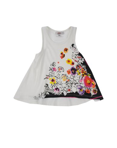 JUNIOR GAULTIER - Sleeveless t-shirt