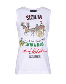 Sleeveless t-shirt - DOLCE & GABBANA