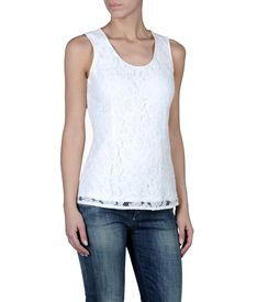 ARMANI JEANS - Sleeveless top