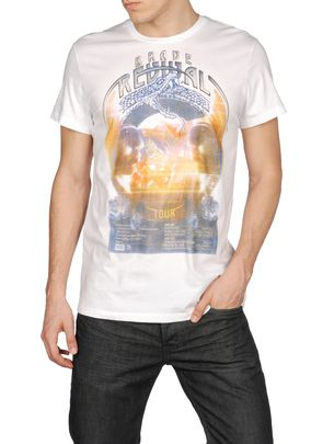 T-shirts &amp; Hauts DIESEL: T8-CIRCSNAKE-M