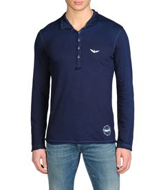 ARMANI JEANS - Long-sleeved polo