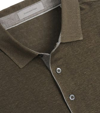 Short-sleeved Polo  ERMENEGILDO ZEGNA
