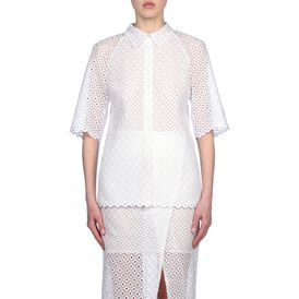 STELLA McCARTNEY, Shirt, Cutwork Embroidery Carrie Shirt