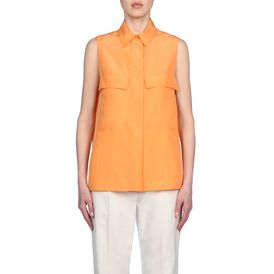 STELLA McCARTNEY, Shirt, Washed Silk Gia Shirt