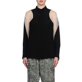 STELLA McCARTNEY, Shirt, Crepe de Chine Gaia Shirt