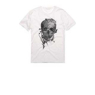 ALEXANDER MCQUEEN, Skull T-shirt, Palm Camouflage Print Skull T-shirt