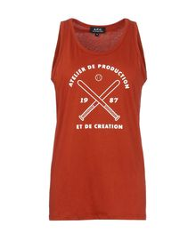Sleeveless t-shirt - A.P.C.