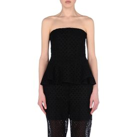 STELLA McCARTNEY, Sans bretelles, Cutwork Embroidery Flavia Top