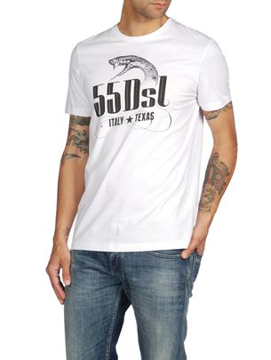 T-shirts & Tops 55DSL: ITALY TEXAS SNAKE