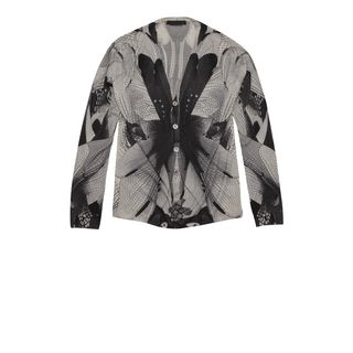 ALEXANDER MCQUEEN, Cardigan, Dragonfly Print Cardigan