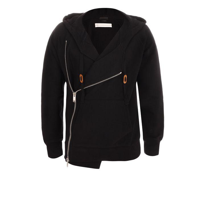 Alexander McQueen, Zip-Up Hooded Sweatshirt