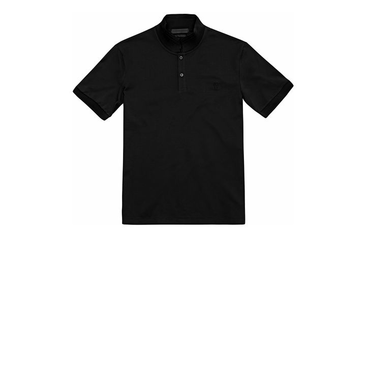 Alexander McQueen, Piquet Cotton Embroidered Skull Polo-Shirt