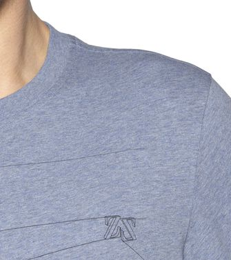 ZEGNA SPORT: T-shirt Light grey - 37475105WC