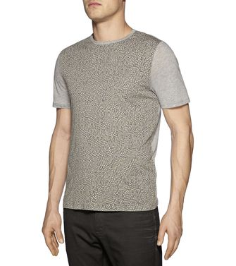 ZZEGNA: T-shirt Light grey - 37475107OF