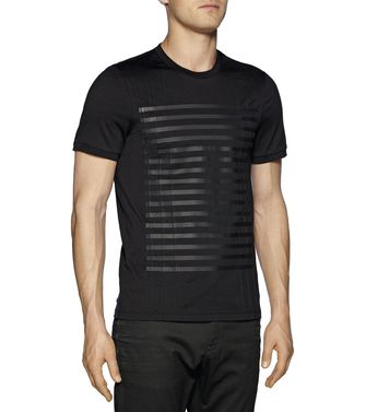 ZZEGNA: T-shirt Black - 37475109QL