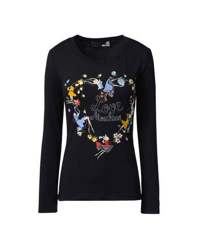 Moschino, T-shirt maniche lunghe