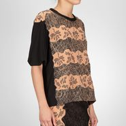 Studded Viscose Crepe Printed Top - Sweater and top - BOTTEGA VENETA - PE13 - 1099