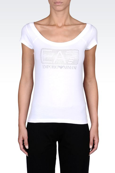 T-shirts and sweatshirts: Short sleeved t-shirts Women by Armani - 2