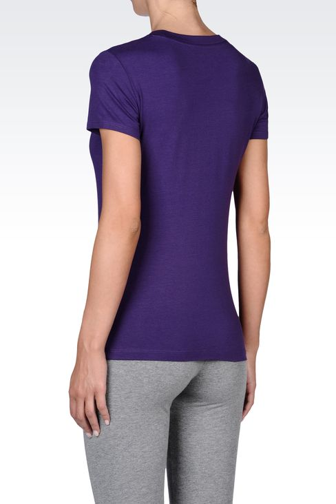 T-shirts and sweatshirts: Short sleeved t-shirts Women by Armani - 3