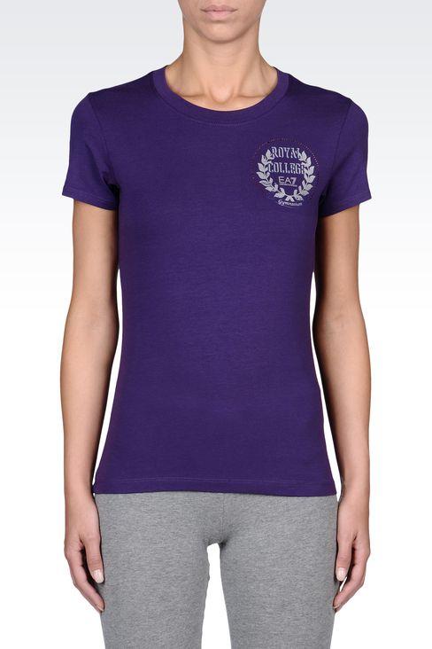 T-shirts and sweatshirts: Short sleeved t-shirts Women by Armani - 2