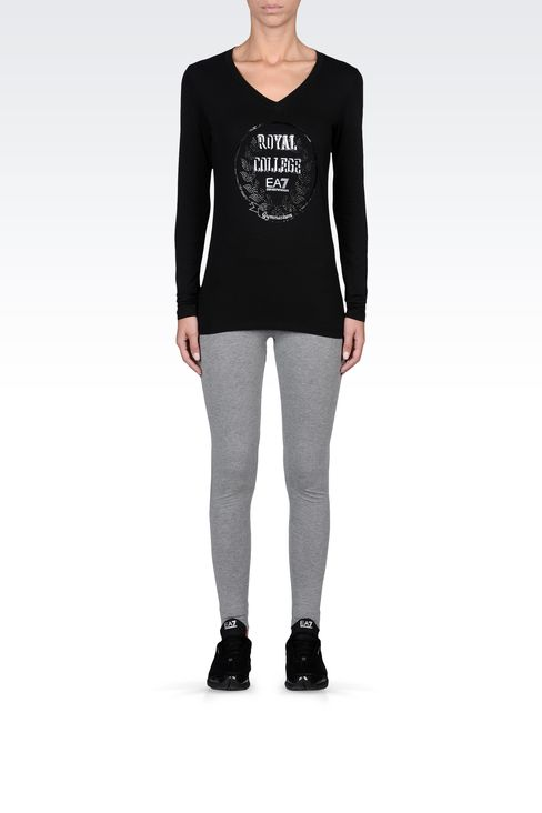 T-shirts and sweatshirts: Long sleeved t-shirts Women by Armani - 1