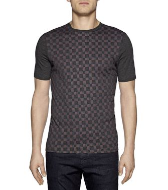 ZZEGNA: T-shirt  Noir - 37481380VE