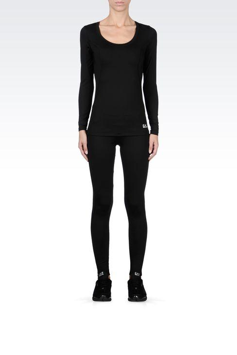 T-shirts and sweatshirts: Long sleeved t-shirts Women by Armani - 1