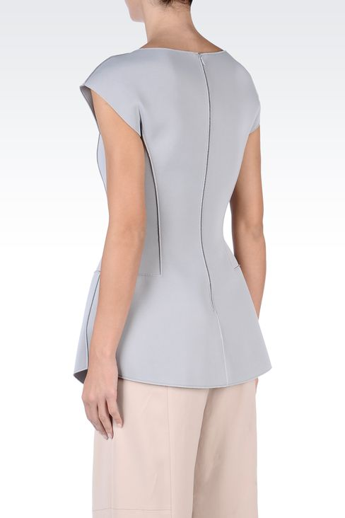 Tops : Sleeveless tops Women by Armani - 3