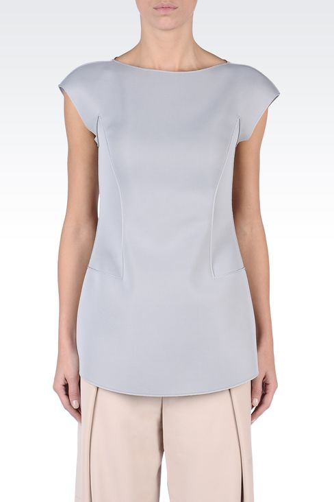 Tops : Sleeveless tops Women by Armani - 2