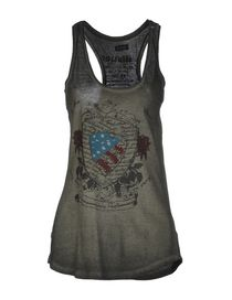 BLAUER - Sleeveless t-shirt