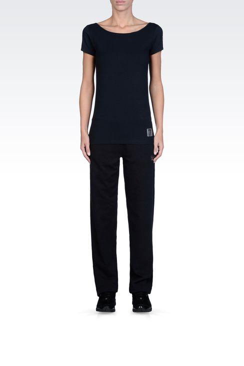 T-shirts and sweatshirts: Short sleeved t-shirts Women by Armani - 1