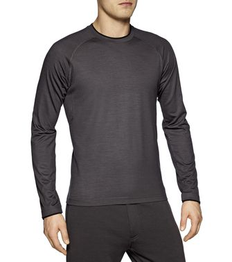 ZEGNA SPORT: Techmerino T-shirt  Blue - Steel grey - 37499686EF
