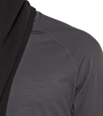 ZEGNA SPORT: T-shirt Techmerino Anthracite - 37499687AF