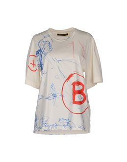 BALENCIAGA - ТОПЫ - Футболки с короткими рукавами