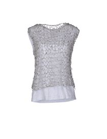 BRUNELLO CUCINELLI - Sleeveless t-shirt