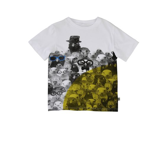 T-shirts manches courtes - STELLA MCCARTNEY KIDS EUR 35.00