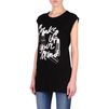 Stella McCartney - T-Shirt mit Print Make Up Your Mind - PE14 - r