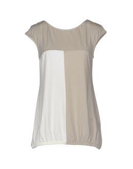 PATRIZIA PEPE SERA Sleeveless t-shirts $ 104.00