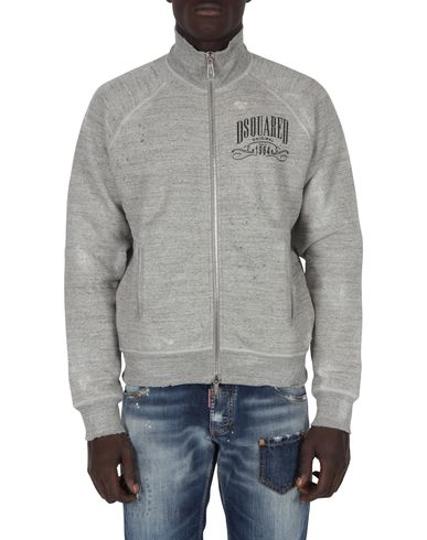 DSQUARED2 - Felpa con zip