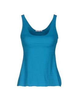 PATRIZIA PEPE BEACHWEAR Sleeveless t-shirts $ 50.00