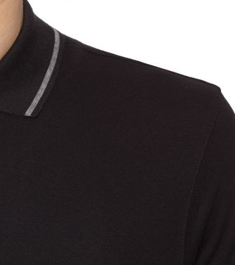 ZEGNA SPORT: Short-sleeved Polo Black - 37516244DI