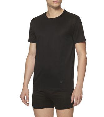 ERMENEGILDO ZEGNA: T-Shirt Col Rond Noir - 37516422GX