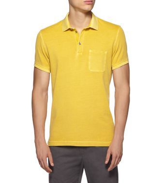 ZEGNA SPORT: Short-sleeved Polo  - 37517903KQ