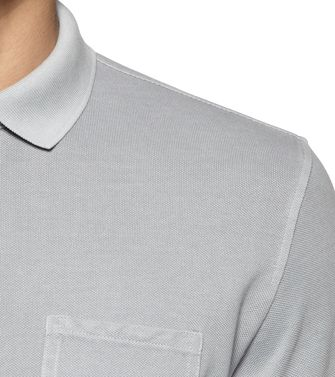 ZEGNA SPORT: Short-sleeved Polo Grey - 37517914LF