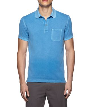 ZEGNA SPORT: Short-sleeved Polo  - 37517917EV