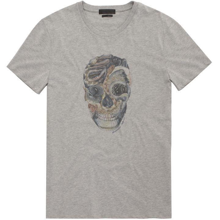 Alexander McQueen, Snake Skull Print T-Shirt
