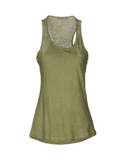 PATRIZIA PEPE Sleeveless t-shirts $ 50.00